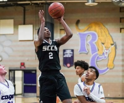 SCCS boys basketball can't hang on to early lead against Rancho Cucamonga