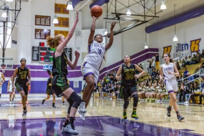 Valencia girls hoops finishes undefeated in Foothill League