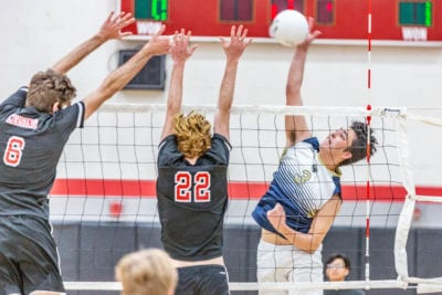 West Ranch boys volleyball keeps perfect record intact against Hart
