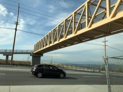 City to celebrate Sierra Highway pedestrian bridge completion