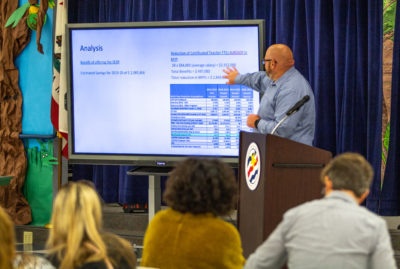 Saugus superintendent holds 'State of the District' seminar