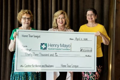 Holiday Home Tour League donates proceeds to Henry Mayo Newhall Hospital Foundation