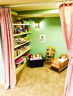 A cozy corner for the children