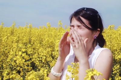 Its allergy season