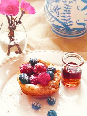 Surprise Mom with Puff Pancake Minis