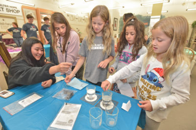 Shelter Hope brings science to children