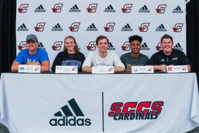 SCCS student-athletes sign NLIs