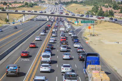Multi-vehicle crash backs up traffic on Highway 14 in Canyon Country