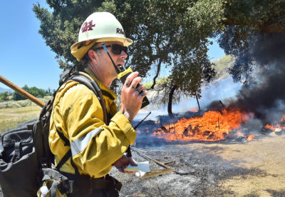 Master's University evacuated as brush fire nears campus