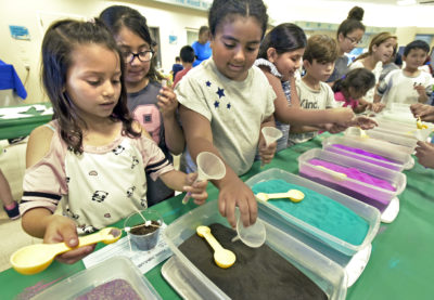 Canyon Springs Community School holds inaugural Science Day
