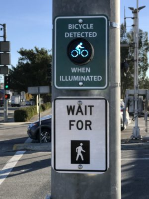 Cyclists sought to test out app aimed at giving them more green lights