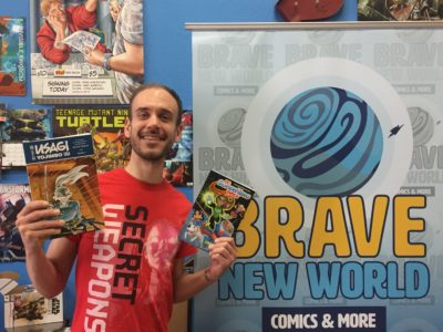 Brave New World to host two local artist signings