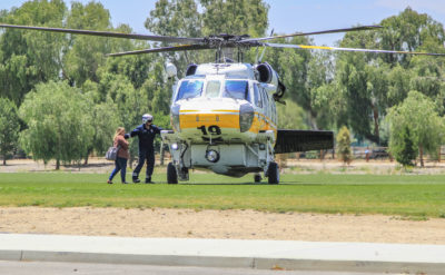 First responders airlift unconscious minor from Central Park