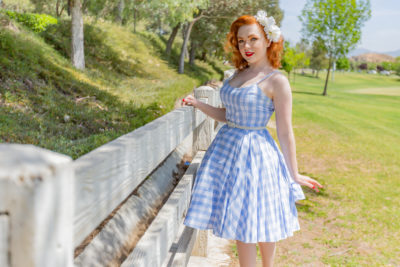 Model Madi Summers brings modern attitude to vintage style