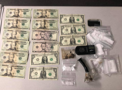 Deputies try to issue warning to driver, discover drugs, cash and a pipe