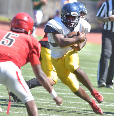 COC football uses scrimmage as preparation for season