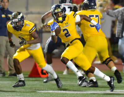 Canyons football overpowers Cerritos in second half