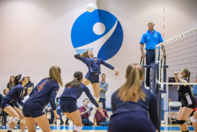 Trinity volleyball outlasts Bishop Diego to advance to semifinals