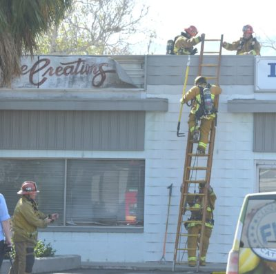 Newhall Fire in commercial business prompts response