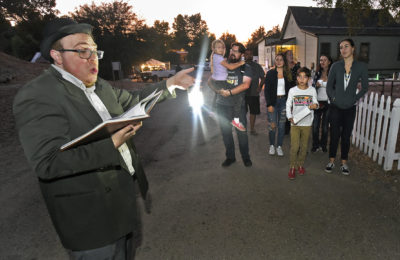 Santa Clarita plays host to the first-ever 'Ghostly Tales at the Old Depot'