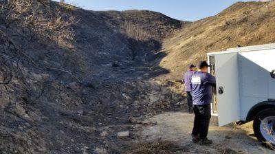 Fire cause investigators scour Tick Fire source
