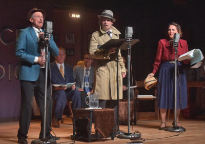 Radio on Stage: Newhall Family Theatre foundation holds first production