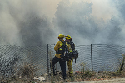 Gusty winds expected as Saddleridge Fire reaches 83% containment