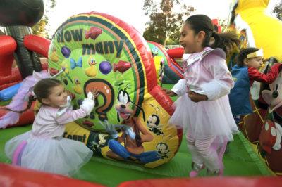 Crosspoint's Halloween block party