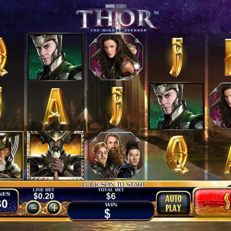 Thor slot playtech
