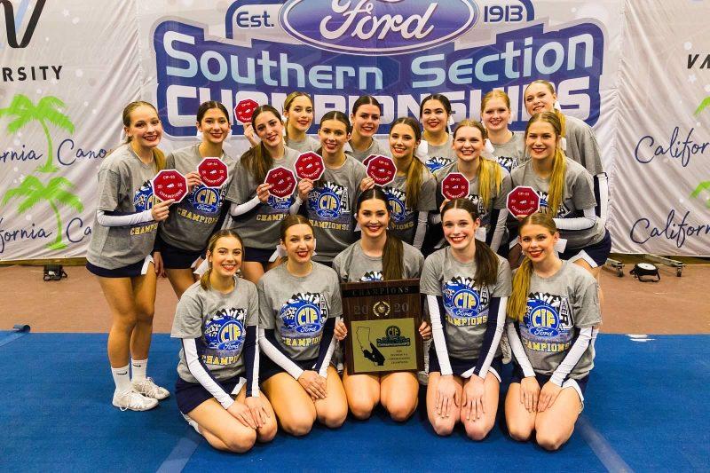 Saugus girls cheer wins title