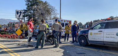 None injured in Newhall Avenue traffic collision