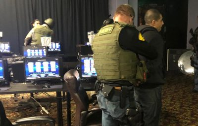 Suspected Castaic Casino allegedly featured slot machines, arcade-style gambling