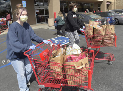 SCV residents helping each other out