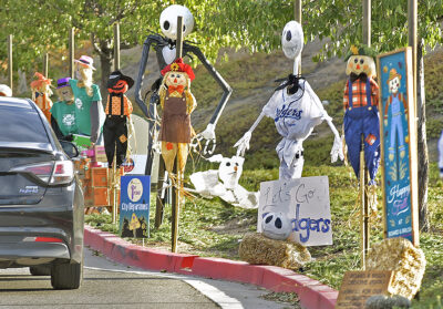 Halloween celebrations continue at city's Scarecrow Alley