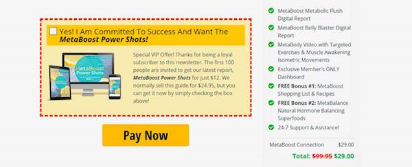 metaboost connection reviews