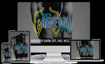 back renewal system