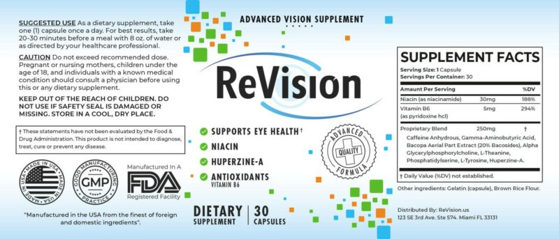 Revision Eye supplement Reviews. Detailed information on where to buy Revision 2.0 Eye Capsules, ingredients, side effects complaints, pricing and more.