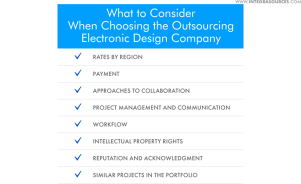checklist of choosing electronic design company