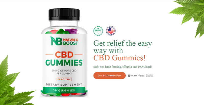 Natures Boost CBD Gummies – [Scam Alert] Reviews, Ingredients, Price, and Benefits – Business