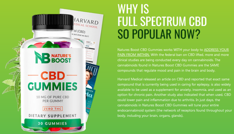 Natures Boost CBD Gummies Reviews, Cost of 2021, Amazon CBD Gummies for Anxiety – Business