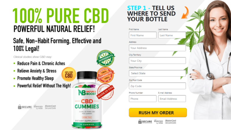 Natures Boost CBD Gummies Reviews – Cost, Benefits, Working and Where to Buy? – The Katy News