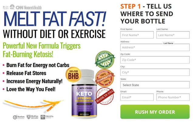 Keto Strong Pills Where to buy