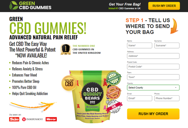 Green CBD Gummies Uk : Reviews, Benefits, Stress, Anxiety & Reads Scam  Alerts! - PromoSimple Giveaways Directory