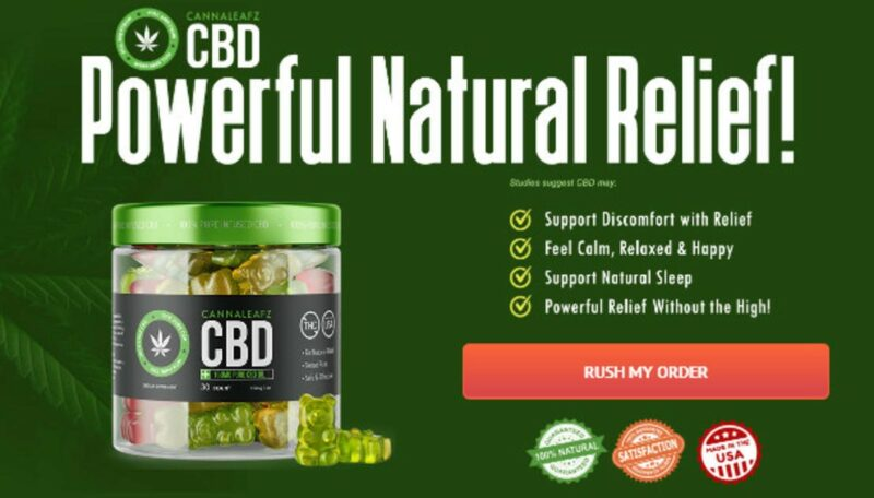 Cannaleafz CBD Gummies : Anxiety Stress Pain-Free | Price, Benefits And  Side Effects!! | homify