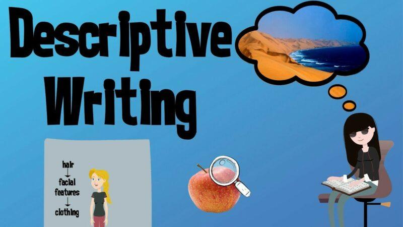 Improve your Descriptive Writing   EasyTeaching - YouTube