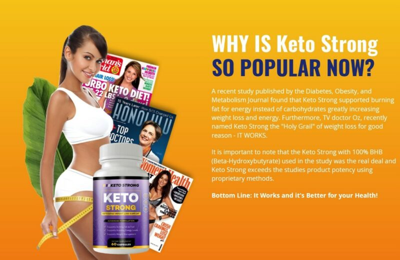 Keto Strong Reviews(2021's) Shark Tank BHB Pills Benefits, Ingredients, And  Price – Business