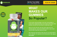 Green Ape CBD Gummies Reviews: Don't Buy Until U Read This! User Here! –  Business