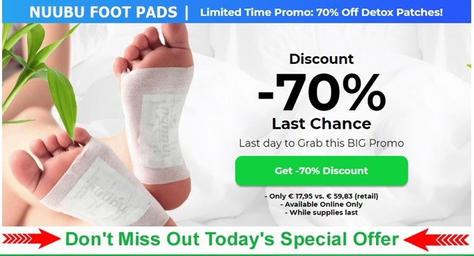 Nuubu Detox Patches [REVIEWS] – [SCAM ALERT] Advanced Cleansing Foot Pads  Reviewed! – Business